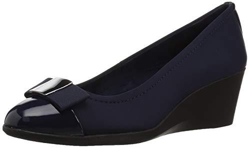Bandolino Footwear Women's Lerocco Pump, Navy, 10.5