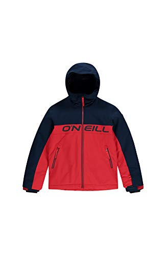 O'NEILL Felsic - Giacche da neve da ragazzo, Bambino, 0P0084, Rosso fuoco, Taglia 164