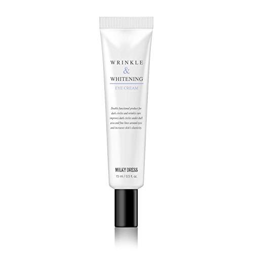 MILKYDRESS Wrinkle Eye Cream 15 milliliter, 0.5 Fluid Ounce, Nourishing, Hydrating Eye Care Cream
