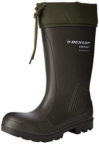 Dunlop Protective Footwear Purofort Thermoflex full safety Unisex-Erwachsene Gummistiefel, Grün 37 EU