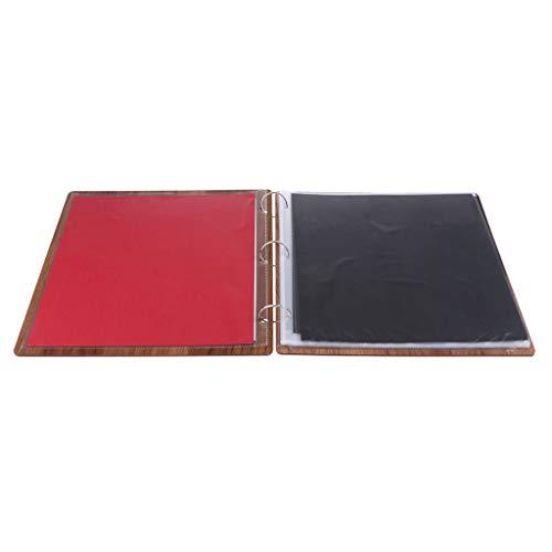 Colcolo Álbum de Fotos Papel de álbum de Recortes Cuaderno de Viaje Kraft DIY Almacenamiento de Fotos - mi querido