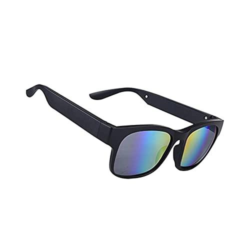 GUHUIHE Bluetooth Smart Sport Auriculares Gafas de Sol Bluetooth Driving Goggles Audio Headset Glasses Car Interiorsies para Coche (Color Name : Color)