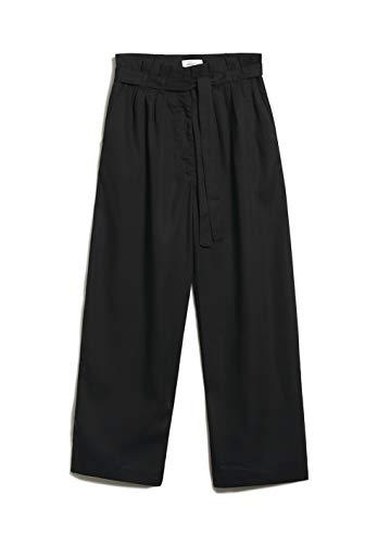 ARMEDANGELS TIMEAA - Damen Hose aus Tencel™ Lyocell S Black Hose Stoffhose Relaxed Fit