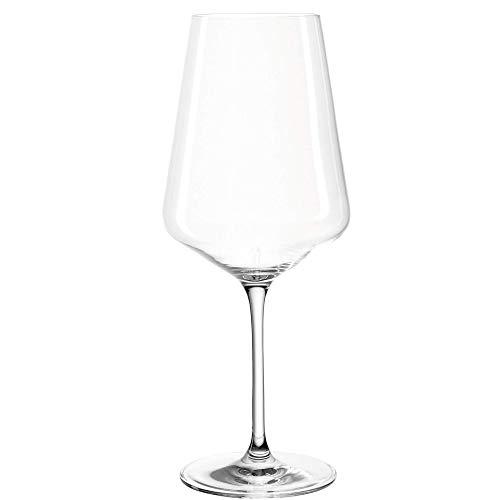 Leonardo Puccini Rotwein-Gläser, 6er Set, spülmaschinenfeste Wein-Gläser, Rotwein-Kelch mit gezogenem Stiel, Weingläser Set, 750 ml, 069554