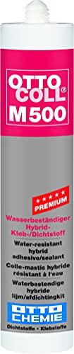 OTTOCOLL M 500 Premium-Hybrid-Klebstoff 310 ml Kartusche C01 weiss