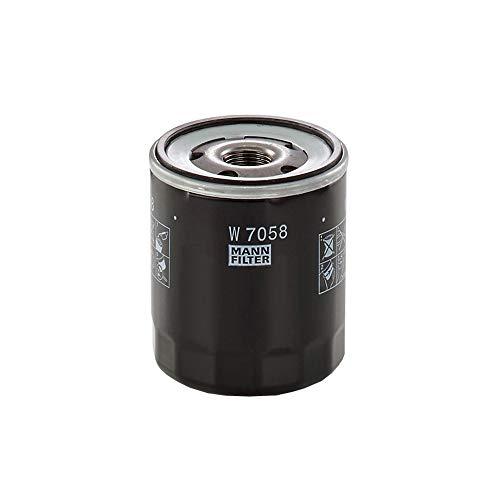 MANN-FILTER W 7058 - Filtro de aceite (cambio de filtro)
