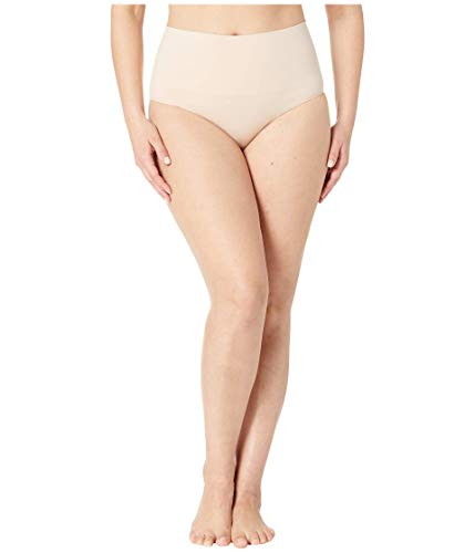 Spanx Shapewear For Women Everday Shaping Tummy Control Panties Brief Soft Nude 2X - Regular