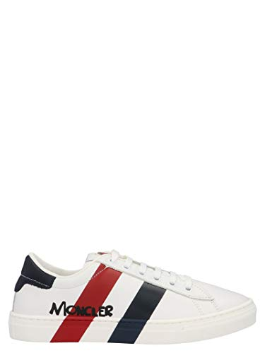 Moncler Luxury Fashion Junge 4M7032002S9U002 Weiss Leder Sneakers   Frühling Sommer 20