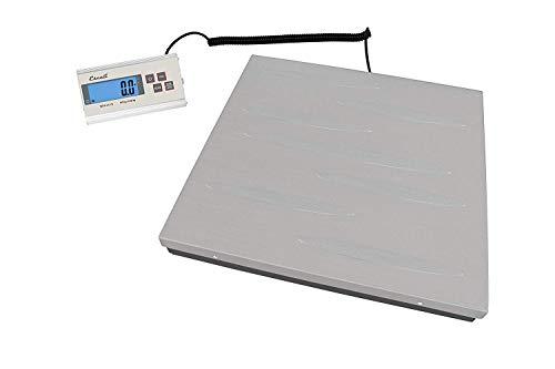 Escali Granda - Báscula digital (149,7 kg, 2 x 2), color plateado