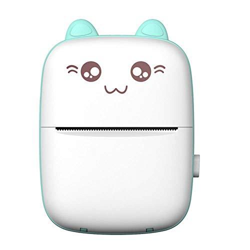SRMTS Mini Thermal Printer Bluetooth Mobile Photo Printer Pocket Student Wrong Question Printer,a
