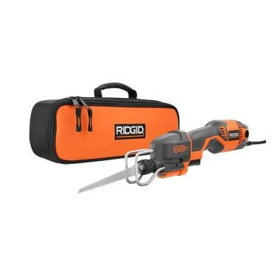 RIDGID 6 Amp Pro Compact Reciprocating Saw Kit R3031