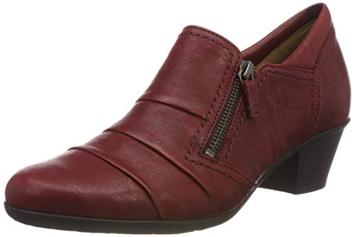 Gabor Shoes Damen Casual Pumps, Rot (Dark-Red 55), 40.5 EU
