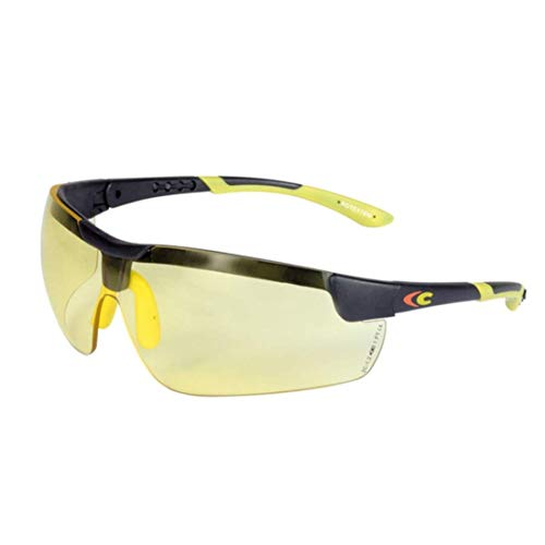 Profesional COFRA Gafas de protección 400 UV Amarillo antivaho EN 170 Gafas de Trabajo Gafas de Trabajo