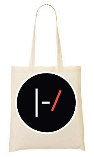 Wicked Design Twenty One Pilots Logo Tragetasche Einkaufstasche