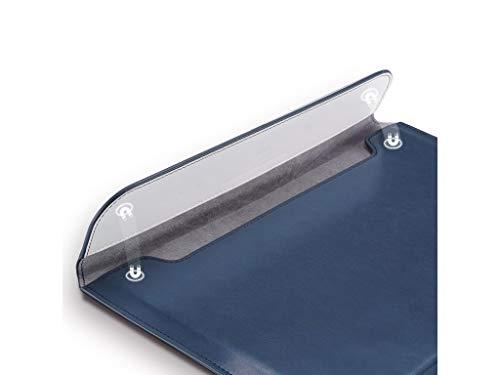 MacbookAirMacbookProケース13.3インチBLUE便利なスタンド機能付きノートPCパソコンケースおしゃれ(13.3インチ,BLUE)