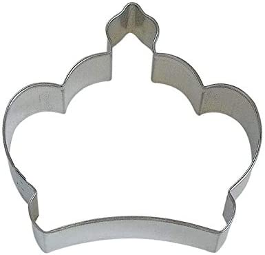 SmartMe - Imperial Crown 3.5'' Oakland Mall Princess Elegant Cookie Tiara Cutter New