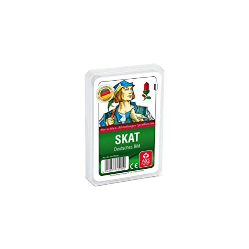 ASS Altenburger 22570205 - Skat - Deutsches Bild Kornblume, Kartenspiel