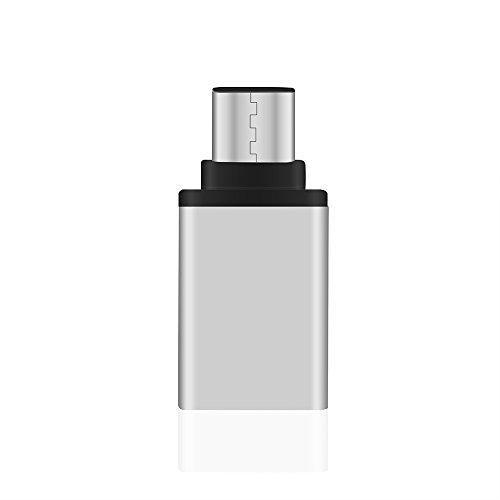 SUIDSFKDFJS Adaptador USB Tipo C, Adaptador USB Tipo C a USB 3.0 Aleación de Aluminio de 5 Gbps para tabletas con teléfonos Inteligentes Android Más Dispositivos USB y Micro