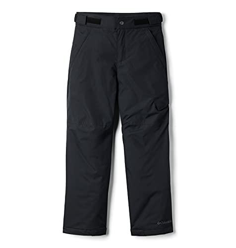 Columbia Wasserabweisende Skihose für Jungen, Ice Slope II Pant, Nylon, Schwarz, Gr. XL, 1523671