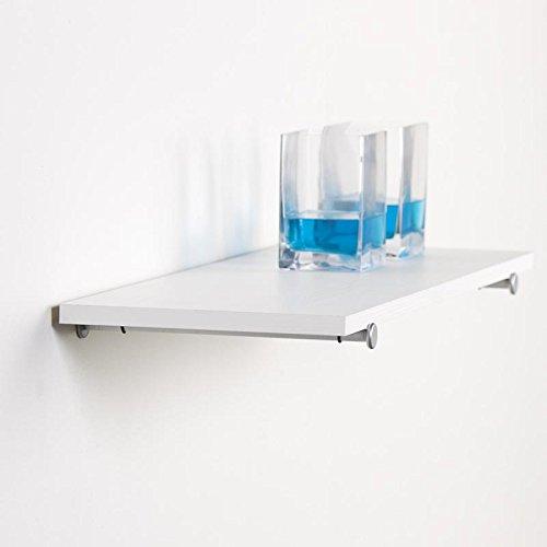 Duraline Design Pin plankdrager voor planken, glazen planken | 15 cm | zilver | 2 stuks