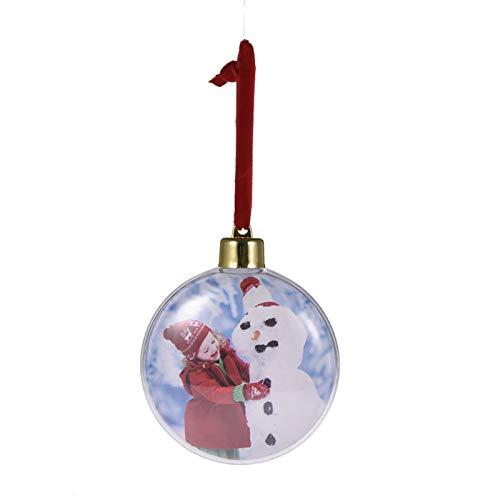 5 Unids Navidad Transparente Foto Bola Navidad Pl/ástico Cinco Estrellas Foto Bola Decoraciones De Navidad /Árbol De Navidad Colgando Decoraci/ón para El Hogar DIY Fiesta Ni/ños Regalos