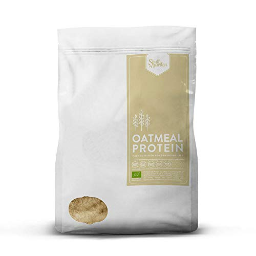 Oatmeal Protein Powder Organic 1 Kg | SOUTH GARDEN | Express Oats | 30% Protein | Rice, Pea and Pumpkin Seed Protein | Vegan | Gluten Free | Lactose Free | Coconut Sugar