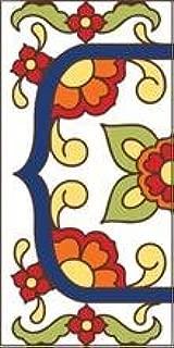 italian tile house numbers