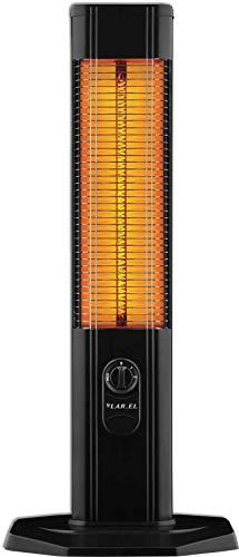 Larel Stufa elettrica con resistenza al carbonio a torretta a bassissimo consumo energeitco