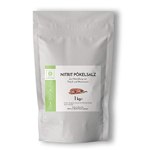 Fuduu.de - Nitritsalz / Pökelsalz, 1 kg Beutel