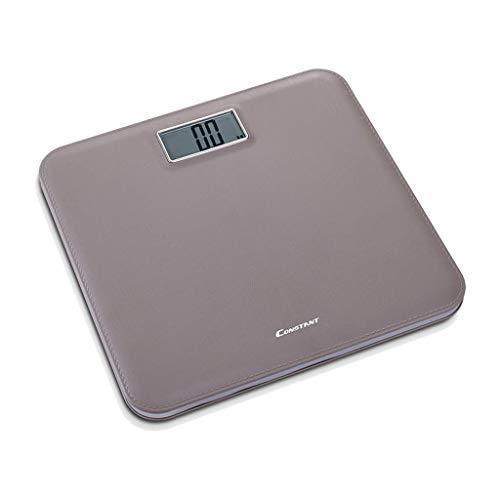 ZCY Elektronische weegschaal Hoge precisie Sensoren Lederen Squarebody Meetwerk Persoonlijke 180kg (Steen/kgs/lbs) A