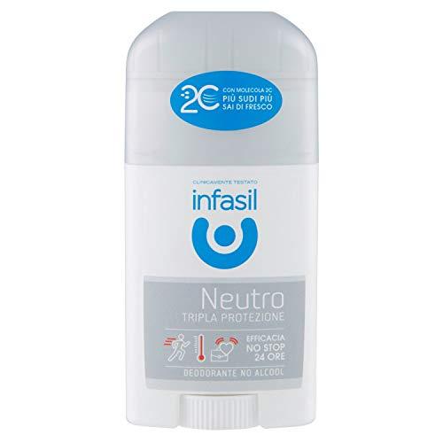Neutro tripla protezione - alcol-free stick deodorant 50 ml