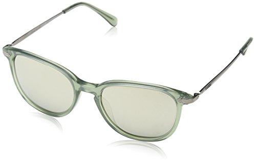 Lozza Herren Sl1995M Sonnenbrille, Silber (SHINY MILKY GREEN), Einheitsgröße