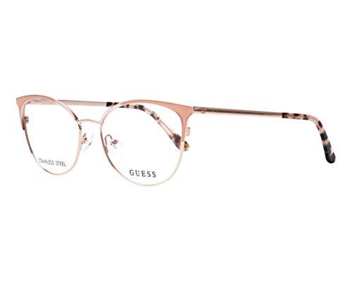Guess Brille für Vista GU2704 074 rosa-rahmen metall größe 52-mm-brillen-frau