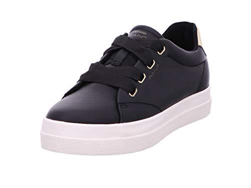 Gant Footwear Aurora, Zapatillas sin Cordones para Mujer, Negro (Black G00), 36 EU