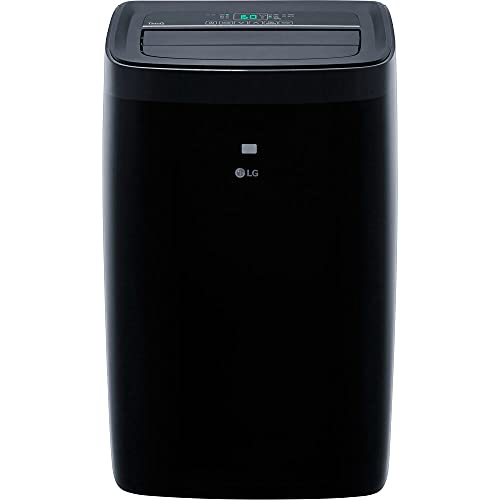 LG 10,000 BTU (DOE) / 14,000 BTU (ASHRAE) Smart Portable Air Conditioner, Cools 450 Sq.Ft. (18' x 25' room size), Smartphone & Voice Control works with LG ThinQ, Amazon Alexa and Hey Google, 115V