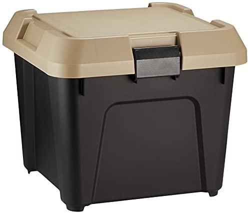 JEJアステージ 収納ボックス Sシリーズ ツールストッカー 400S サンドベージュ×ブラック 幅40×奥行38×高さ33.3cm