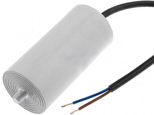 Motorkondensator Anlaufkondensator Betriebskondensator MKP Kondensator 10,0uF 400V mit Kabel Ducati 4.16.10.15.14