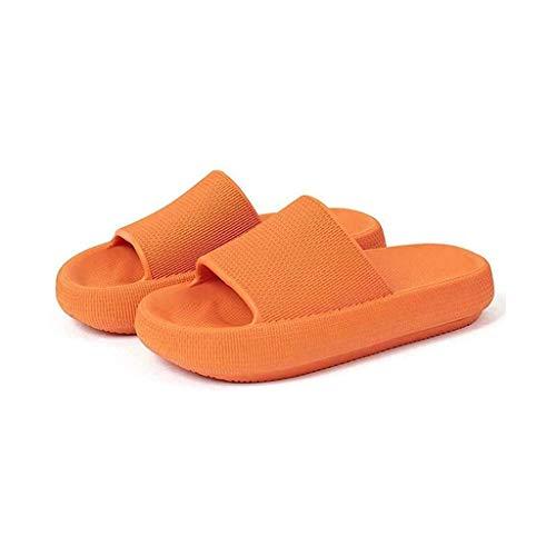 MNBV Zapatillas unisex para mujeres/hombres, antideslizantes, ultraligeras, planas, suaves, suaves, para interiores, hogar, jardín, baño
