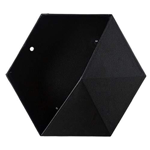 JTLB Estantes flotantes de Forma Hexagonal, estantes hexagonales, Estante montado en la Pared, estantes flotantes, Estante de Almacenamiento, exhibición para la decoración del Dormitorio del hogar