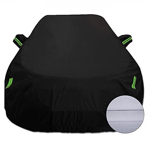 XXqccz Cubiertas de automóviles Completas Compatible con Volvo S40 V40 XC40, Vehículos Transpirables Impermeables Cubiertas Exteriores All Clima Protección de automóvil Tarpaulin Coche Garaje