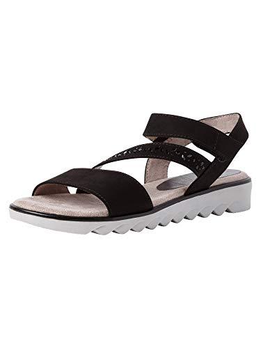Jana Damen Sandale 8-8-28661-26 001 H-Weite Größe: 39 EU