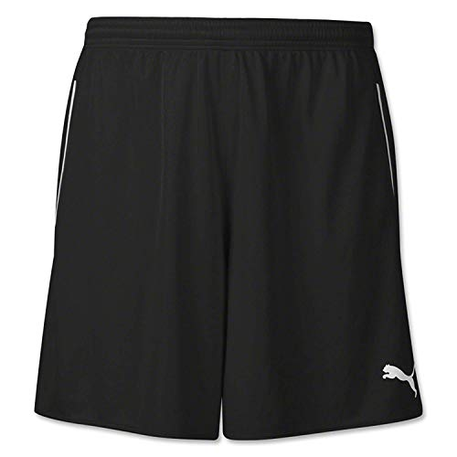 Puma Men's Speed Shorts, Youth Small, Black-White