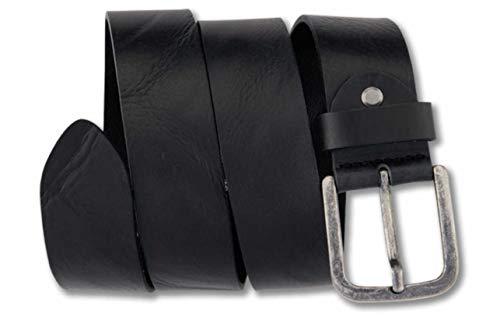 Bernd Götz Gürtel 4cm Ledergürtel Walkleder classic Art. 402853, Farbe:schwarz, Größe:90