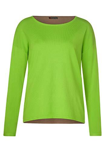 Street One Damen 301173 Gerdi Pullover, Mehrfarbig (Flash Lime 22133), (Herstellergröße: 40)