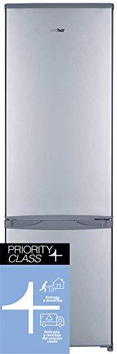 Sauber - Frigorífico Combi SERIE 3-176I - Eficiencia energética: A+ - 176x55,5 cm - ENTREGA EN DOMICILIO