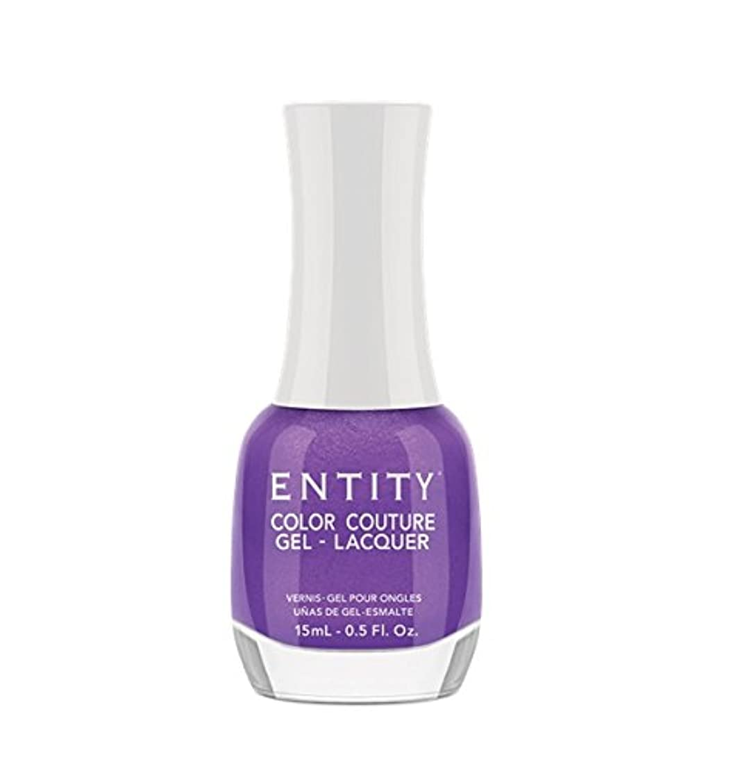かかわらず淡いヒューマニスティックEntity Color Couture Gel-Lacquer - Elegant Edge - 15 ml/0.5 oz