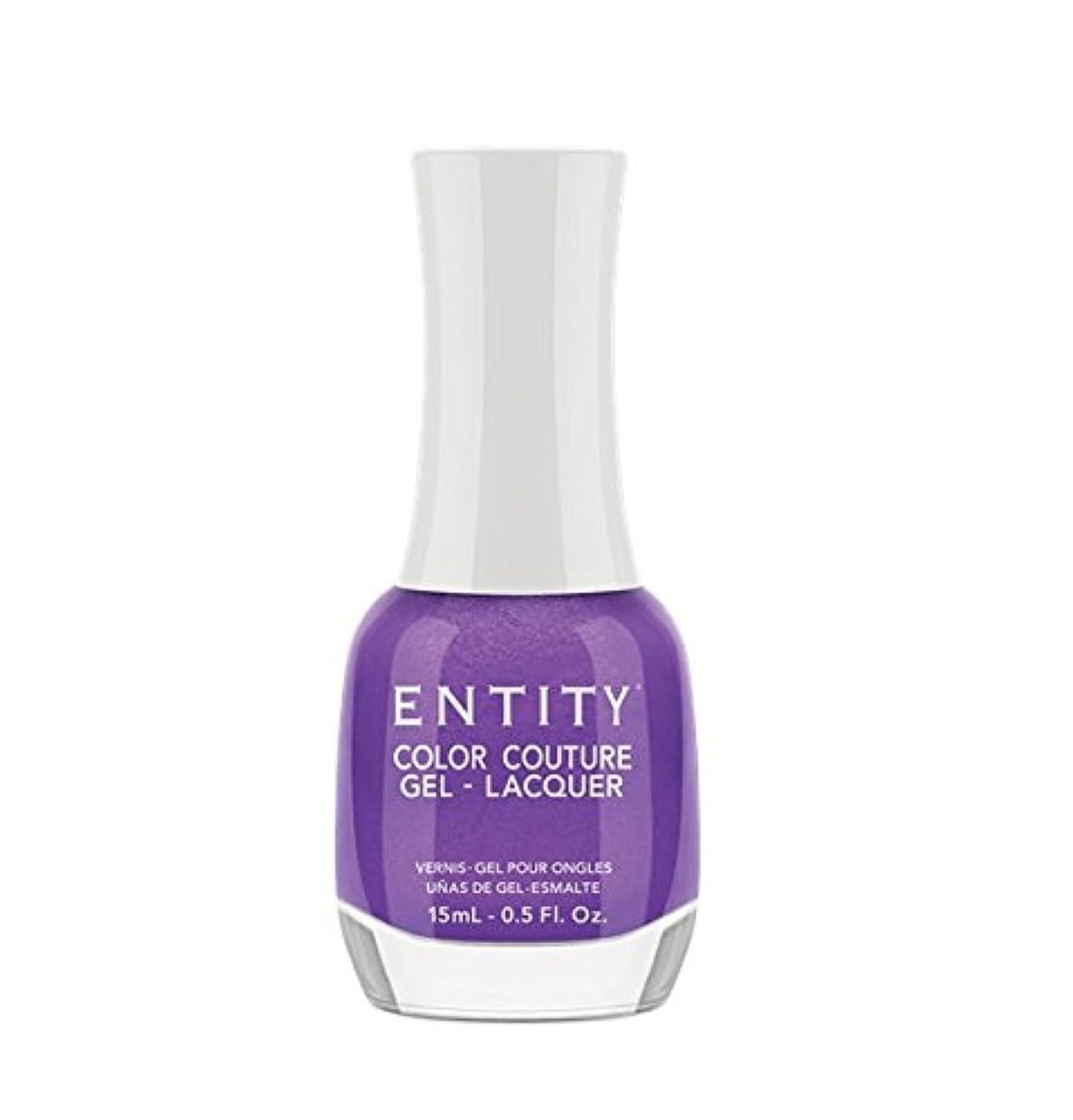 とげ平方フィラデルフィアEntity Color Couture Gel-Lacquer - Elegant Edge - 15 ml/0.5 oz