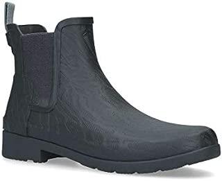 Women Refined Chelsea Coral Texture Rain Boot