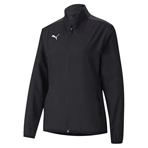Puma Damen teamGOAL 23 Sideline Jacket W Trainingsjacke, Black-Asphalt, L
