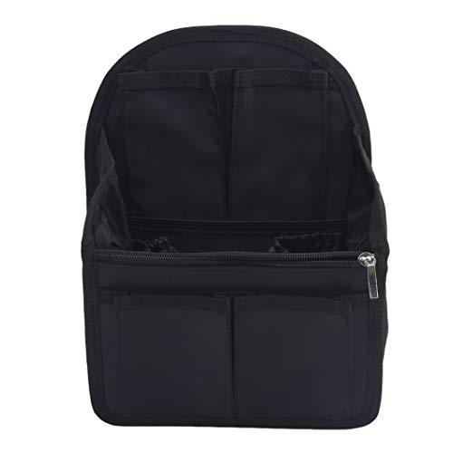 SJHFG - Organizador de mochila con doble bolsa de hombro, accesorio para bolso y organizador